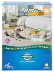 PetSafe Pawz Away Mini Indoor Pet Barrier - Waterproof Adjustable Range Kit NEW