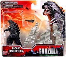 Godzilla Pack Of Destruction Bandai 3.75 inch Scale