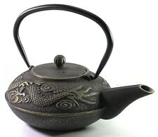 More details for buckingham imperial dragon japanese cast iron teapot kettle tea pot 700 ml