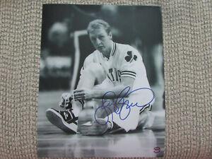 Larry Bird Boston Celtics 8x10 Photo Signed
