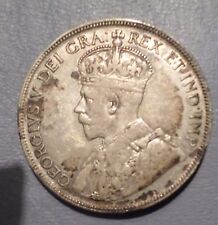 CANADA COIN 50  CENTS 1934  XF-