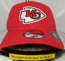 Kansas City Chiefs~NFL~New Era~9TWENTY~Team Headwear~Core Classic TW~Red & White