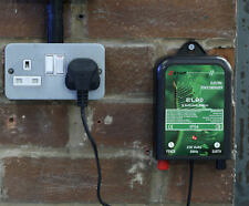 MAINS ELECTRIC FENCE ENERGISER UNIT 230V - HIGH POWER - WIRES LEADS FULL KIT