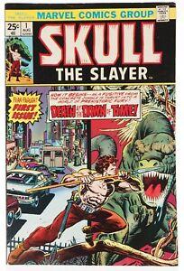 👀 1975 SKULL THE SLAYER #1 Marvel Comics Very Fine-  👀🎉💎