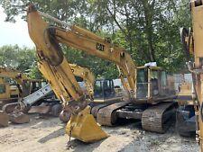 1992 Cat Caterpillar 231 231d Hydraulic Excavator With Hammer Plumbing 235 235c