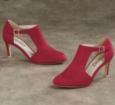 Ashro Carlah Shoe Red Pump, 7M, Wedding, Church