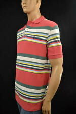 Ralph Lauren Classic Fit Multi-Colored Stripe Mesh Short Sleeve Polo Shirt -NWT