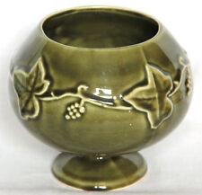 Vintage Brandy Balloon Shaped Vine Pattern 240 Bowl or Vase - Dartmouth Pottery