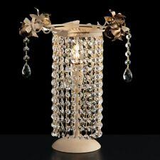 Bedside Lamp Lumetto Crystal Clear Modern