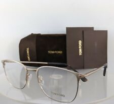 274a5c1a1d6 Brand New Authentic Tom Ford Eyeglasses FT TF 5453 029 52mm Gold Matte Frame