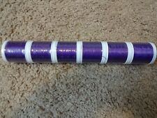 """6 Rod Building Wrapping Pro wrap Size """"A"""" Purple Electra Thread #9008 100yd sp"""