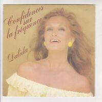 DALIDA + ANTOINE Disque 45 tours CONFIDENCES SUR LA FREQUENCE - CARRERE 50023