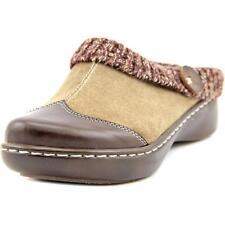 L'Artiste Spring Step Leather Clogs Mules Svetlana Brown EUR 37