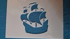 Schablonen 852 Schiff Mylarfolie Shabby Stencil Wandtattoos Wandbilder Airbrush