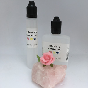 Vitamin E blended oil - skin/hair/nails Fragrance free candle/soap/massage