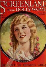 SCREENLAND TV-LAND MAGAZINE 1920-1960 films Hollywood movie cinema 100 ISSUE DVD