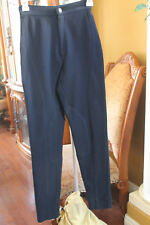 GUESS RIDING PANTS JEGGINGS SOLID Black SIZE 29 STRETCH JEANS VINTAGE HIGH WAIST
