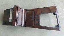 Bmw E38 7-Series Genuine Original Centre Console Wood Trim Cover Panel 8163952