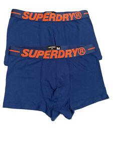 Superdry Black //Blue//Grey Grit Triple Pack Sports Boxer Trunk