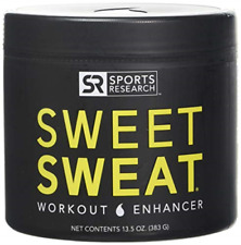 Sports Research Sweet Sweat Thermo Genic Action Coconut Cream Jar 13.5oz
