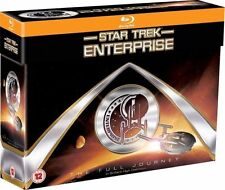 Star Trek: Enterprise The Full Journey, Blu-ray 24 Discs  Region Free BRAND NEW