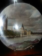 """Antique English Plate. Mint. Royal Doulton. New. """"The Houses of Parliament""""."""
