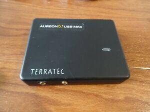 Terratec Aureon 5.1  MKII  USB + Zubehör Kabel Soundkarte PC Notebook Sound