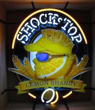 "Rare New Shock Top Lemon Shandy Beer Bar Light Neon Sign 24""x20"""