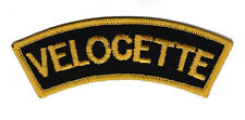 Velocette Shoulder Embroidered Patch