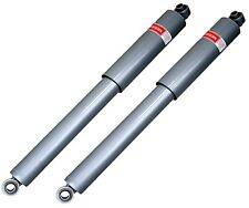 Pair Set of 2 Rear Gas-a-just KYB Shock Absorbers Motorhome Chassis for Chevy