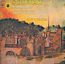 BRUNO WALTER/COLUMBIA/NEW YORK symphonies 5 & 8 inachevée SCHUBERT LP 1961 CBS++