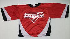 New Vaughn ice hockey goalie jersey junior large jr boys red 7360