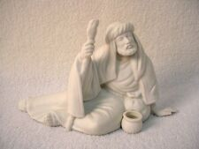 AVON china ALL WHITE NATIVITY Figurine POOR MAN