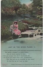 POSTCARD  SONG CARDS  Just as the brook flows (1)