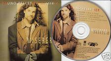 BRUNO PELLETIER Miserere (CD 1997) 11 Songs French Quebec Album