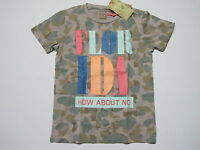 Scotch Shrunk Jungen T Shirt camouflage Gr. 116 / 6  NEU   - 50  %