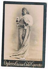 Vintage Ogden's Guinea Gold Cigarettes Caron Tobacco Card