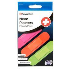 75 x Neon Plasters -1 x 75 Pack