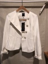 The Limited Luxe Collection LTD Women's S Jacket Career Cream Blazer NWT $169.95