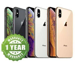 Apple iPhone XS - 64GB 256GB - Unlocked Smartphone Very Good Condition Warranty