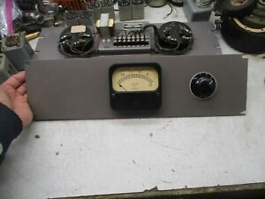 1    original   RCA     meter      panel   for    western   electric    DIY  2ND