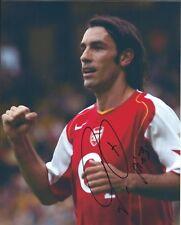 Robert Pires autograph - signed photo - Arsenal Footballer