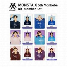 MONSTA X 5th Official Fanclub MONBEBE Photocard Student Card SET KPOP K-POP