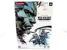 PS3 METAL GEAR SOLID HD EDITION PREMIUM PACKAGE JAPAN GAMES Free Shipping