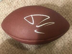 """Josh Rosen Signed Football """"The Duke""""-UCLA-Atlanta Falcons- Miami Dolphins"""