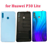 For Huawei P30 Lite Replacement Rear Glass Battery Back Cover Phone Case Part BM