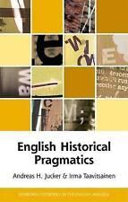 English Historical Pragmatics; Hardback Book; Jucker, 9780748644698