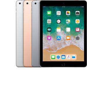 Apple iPad 6 (6th Gen) - (2018 Model) - 32GB - 128GB - Wi-Fi - Cellular