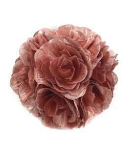 "7"" (20 cm) Flower Kissing Ball Rose Pomander Wedding Party Home Decoration"