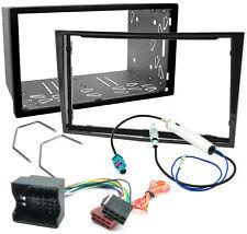 Radioblende für Opel Corsa D Astra H Zafira B Set Blende Rahmen Radio Adapter